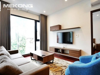 Brand new apartment with 2 bedrooms for rent on To Ngoc Van street, Tay Ho