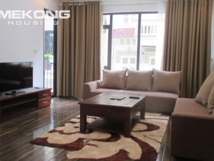 2 bedrooms serviced apartment for rent in Hoang Quoc Viet street