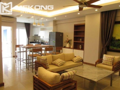 3 bedrooms apartment for rent in Peach Garden, Tay Ho district, Hanoi.