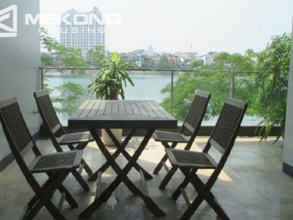 3 bedrooms apartment for rent in Xuan Dieu street, Tay Ho district, Hanoi