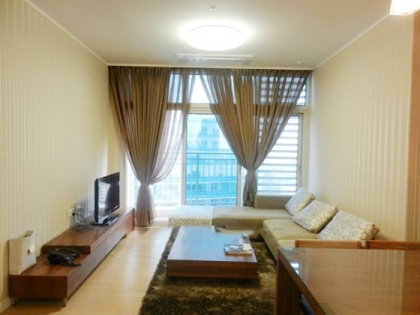 Bright apartment with 3 bedrooms for rent in Keangnam tower