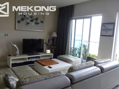 Lake view apartment with 3 bedrooms in Golden Palace, Hanoi