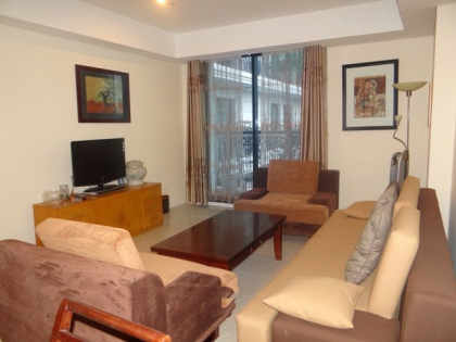 One bedrooms apartment with well furnished for rent in Pacific Place