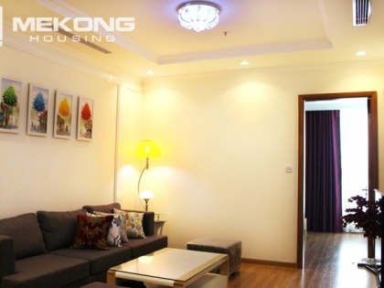 Apartment for rent in Vinhomes Nguyen Chi Thanh with a bedroom