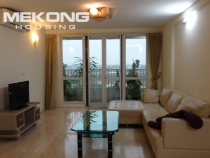 Apartment is very beautiful with 4 bedrooms for rent in Ciputra Hanoi