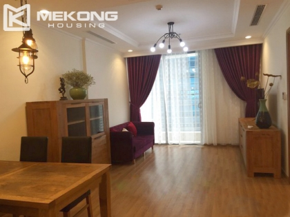 Brand new apartment for rent with 2 bedrooms in Vinhomes Nguyen Chi Thanh