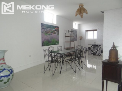 Fully furnished apartment with 2 bedrooms for rent in Hoan Kiem district, Hanoi.