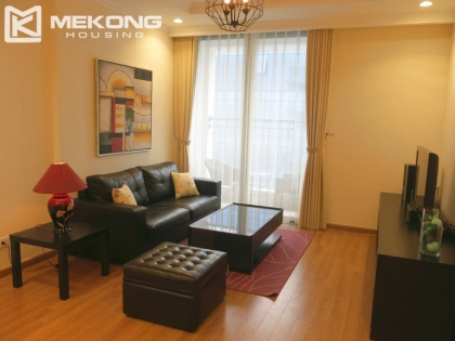 Fully furnished apartment with 2 bedrooms for rent in Vinhomes Nguyen Chi Thanh