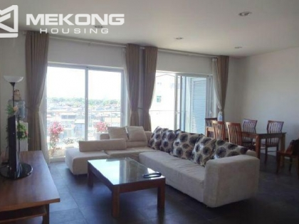 Lake view apartment for rent in Tower E, Golden Westlake, Tay Ho district, Hanoi.