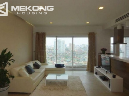 Lakeview apartment for rent in Golden Westlake, Tay Ho district, Hanoi.