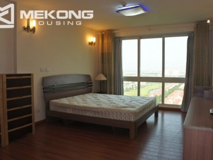 Large apartment for rent in Ciputra P tower, 182 sqm, 4 bedrooms