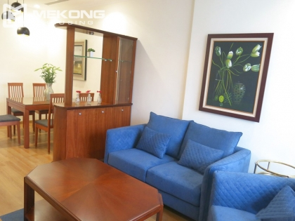 Large terrace apartment for rent with 2 bedrooms in Vincom Nguyen Chi Thanh