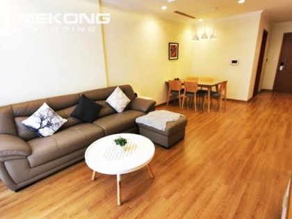 Lovely apartment for rent in Vinhomes Nguyen Chi Thanh with 2 bedrooms