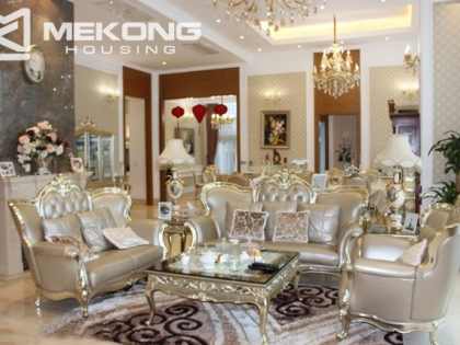 Luxury penthouse apartment for rent in Keangnam