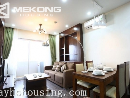 Modern serviced apartment for rent in Cau Giay street, Cau Giay district, Hanoi.