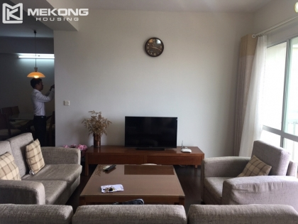 Nice apartment for rent in Ciputra Hanoi with 4 bedrooms and 153 sqm