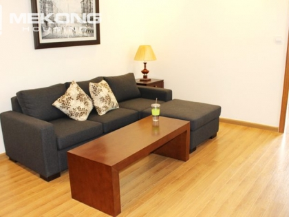 Nice apartment for rent in Vinhomes Nguyen Chi Thanh with a bedroom