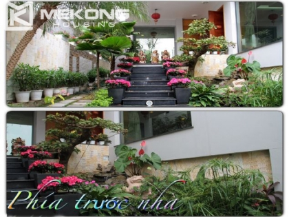 Nice villa for rent in Vuon Dao with 4 bedrooms