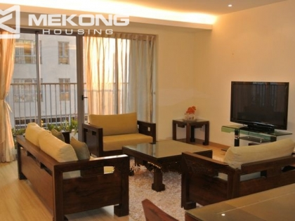 Nicely decorated apartment for rent in Sky City Lang Ha, Dong Da district