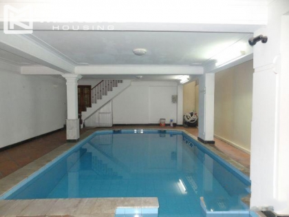 Rental beautiful villa with swimming pool in Tay Ho district