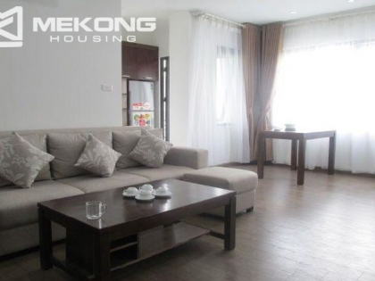 Serviced apartment with one bedroom for rent in Dich Vong, Cau Giay district, Hanoi