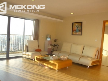 Sky city apartment for rent in  Lang Ha street, Dong Da district, Hanoi.