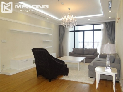 Spacious apartment for rent in Royal City, Thanh xuan, Hanoi.