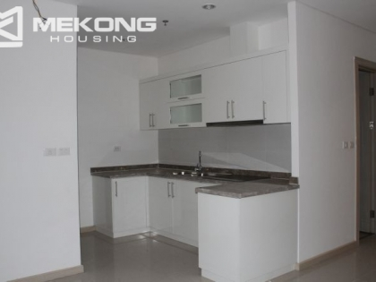 Unfurnished apartment for rent in Golden Westlake, Tay Ho, Hanoi.