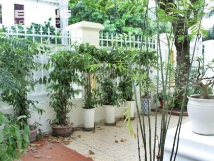 Villa for rent in Ciputra in Tay Ho district with 5 bedrooms